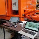 Elektrotechnische besturing funderingsmachine